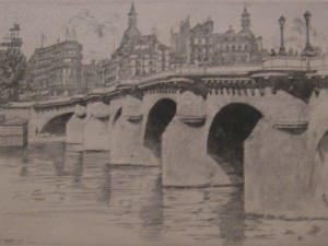 Pont Neuf No. 2 by George Aid