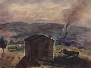 Manayunk View by Francis  Speight