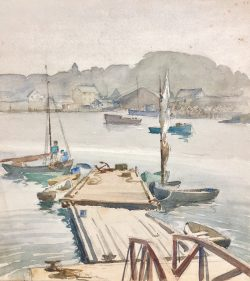 Bickford's Float - Misty Day by Harry De Maine (1880-1952)