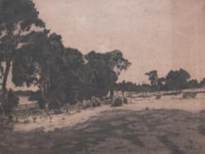 Pastoral Scene by George Aid