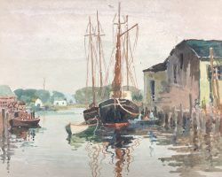 Morning Reflections by Harry De Maine (1880-1952)