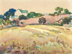 Autumn Golden by Harry De Maine (1880-1952)