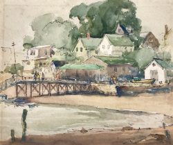 Low Tide at Rocky Neck by Harry De Maine (1880-1952)