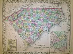 North & South Carolina by Mitchell