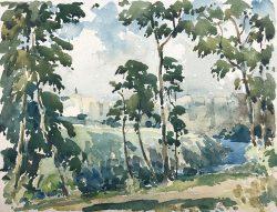 Bronx River by Harry De Maine (1880-1952)