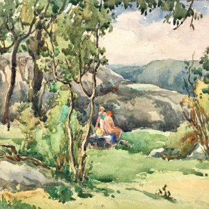 Harry DeMaine (1880-1952) Watercolor Exhibition