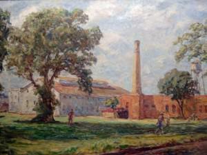 Old Factories, Greenville by Sarah Blakeslee