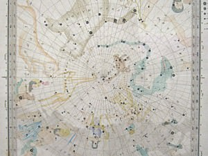 The Stars on the Gnomic Projection VI by SDUK
