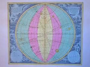 Haemisphaeria Sphaerarum Rectae et Obliquae by Cellarius