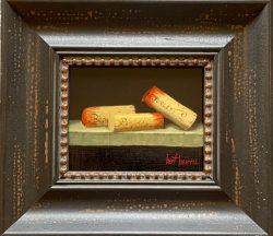 3 Wine Corks by Bert Beirne