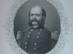 Major General Burnside by T.W. Hunt