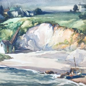 Watercolor Paintings from the Estate of Harry De Maine (1880 – 1952)