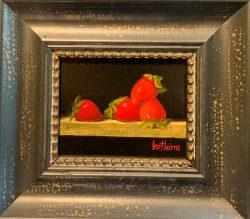 4 Strawberries by Bert Beirne