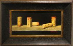 Five Wine Corks by Bert Beirne