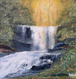 Grassy Creek Falls by David Addison