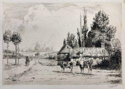 Dans la Vallee de l'Eure by George Aid (1872-1938)