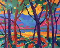Mountain Sunrise II by Al Gury