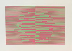 Interaction of Color - XVIII-3-2 by Josef Albers