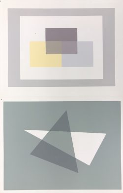 Interaction of Color IX-2 by Josef Albers  (1888-1976)
