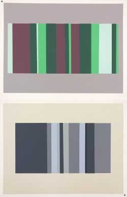Interaction of Color XVIII-8 by Josef Albers  (1888-1976)