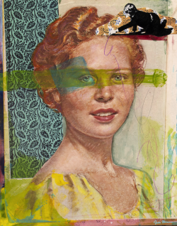 Altered Portrait 1 by Julia Harmon