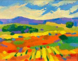 August Fields I by Al Gury