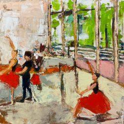 Ballet on High by Ana Guzman
