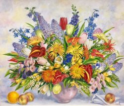 Mixed Bouquet #5 by Charles Baskerville Jr. (1896-1994)