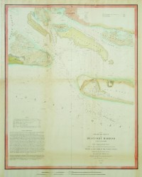 Beaufort Harbor, NC by U.S. Coast Survey Chart