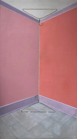 Corner Painting by George Bireline (1923-2002)