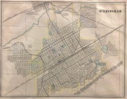 Birmingham / Charleston by George Franklin Cram (1841 - 1928)