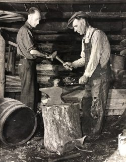 Black Smithing by Bayard Wootten