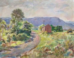 Curving Road, Blue Hill, New York by Sarah Blakeslee