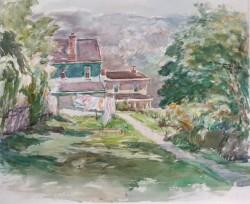 Houses, West Manayunk Street by Sarah Blakeslee