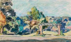 River Park, Greenville by Sarah Blakeslee (1912-2005)
