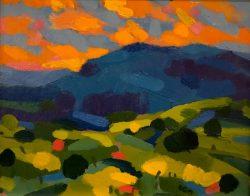 Blue Hills by Al Gury