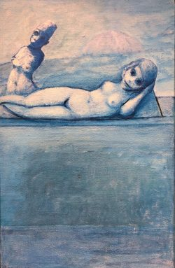 Blue Nude and Other by Robert Broderson