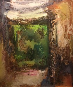 Painted into a Corner by Charles Marksberry
