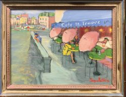 Cafe St. Topaz by Angna Enters