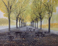 Cafe Tables and Chairs by David Addison