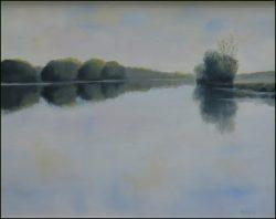 Calm River by David Addison