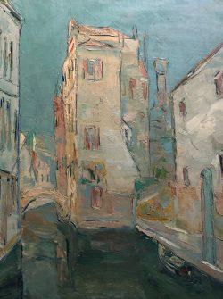 Canal à Venise by Wladimir de (Wlodzimierz)  Terlikowski
