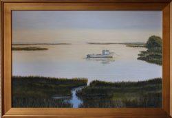 Carolina Work Boat by David Addison