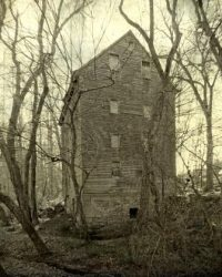 Cascine Mill in the Deep, Dark Woods by Watson  Brown