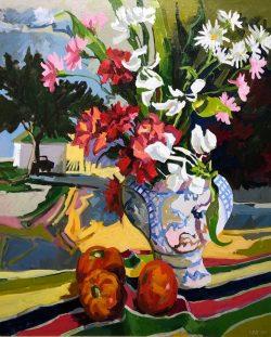 Cannon St. Floral #17 by Joseph Cave