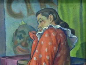 Clown Girl by C. Rios