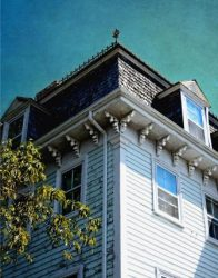Crested Mansard and Fancy Brackets by Watson  Brown