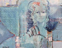 Crystal's Blue by Kathy  Daywalt