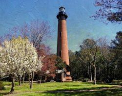 Currituck Beach Lighthouse by Watson  Brown