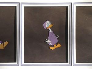 Donald Duck Triptych by Walt Disney Studios
